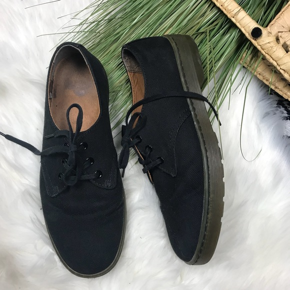 official detailed look good DR MARTENS Sneaker Canvas Oxfords Delray US 9